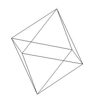 исходник 3D Октаэдр на delphi